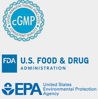 same stringent cGMP process that an FDA-regulated product must go through